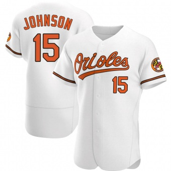 Authentic Baltimore Orioles Davey Johnson Home Jersey - White