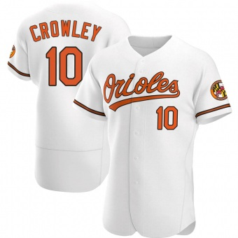 Authentic Baltimore Orioles Terry Crowley Home Jersey - White