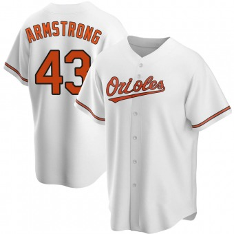 Replica Baltimore Orioles Shawn Armstrong Home Jersey - White